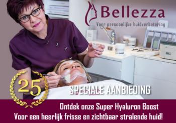 Jubileum actie Bellezza Tolbert 25 jaar